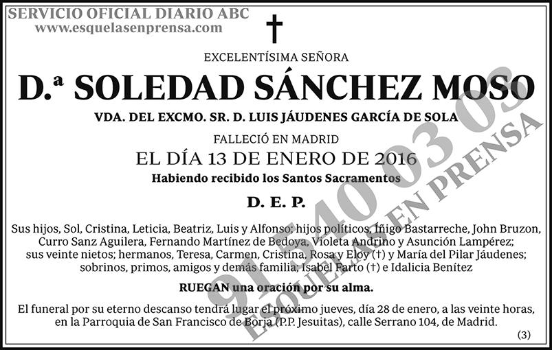 Soledad Sánchez Moso